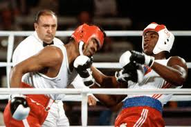 Photo of Olympics – 1984 Los Angeles – Super Heavywt Boxing & Profile Of Jesse Owens