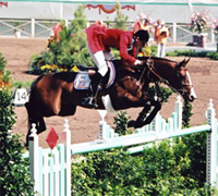 Photo of Olympics – 1984 Los Angeles – Equestrian Horse Jumping – Final Round