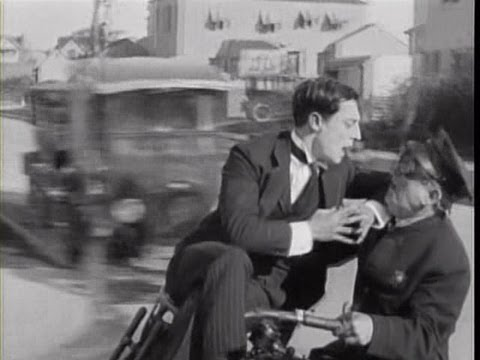 Photo of Comedy – Buster Keaton – The Street Cleaner & The Cop Chase & The Soda Jerk