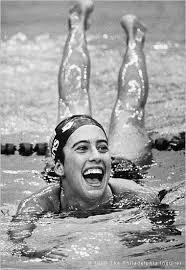 Photo of Olympics – 1988 Seoul – Mens & Womens Swimming – USA Matt Biondi & USA Janet Evans