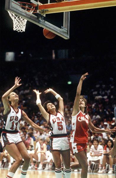 Photo of Olympics – 1984 Los Angeles – Womens Basketball – USA VS Canada – 2nd Half