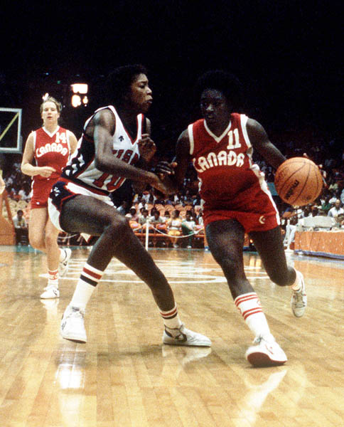 Photo of Olympics – 1984 Los Angeles – Womens Basketball – USA VS Canada – 1st Half