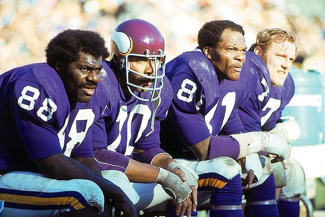 Photo of NFL – Great Players – Minnesota Vikings DE Jim Marshall