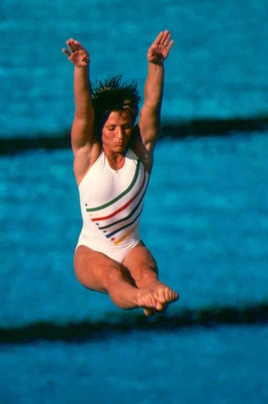 Photo of Olympics – 1984 Los Angeles – Diving Womens Springboard Prelims & Track Mens 110m Hurdles Heats