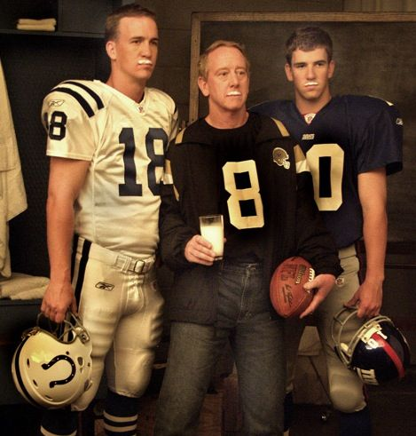 Photo of NFL – Greatest QBs Ever – Archie Manning & Terry Bradshaw & Fran Tarkenton