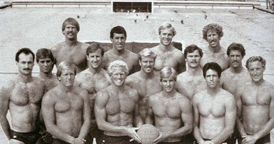 Photo of Olympics – 1984 Los Angeles – Water Polo – USA VS Holland – 1st Period