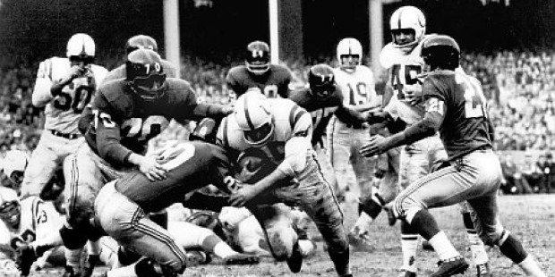 Photo of NFL – Special – Old 1956 Rivals Touch Football Game – NY Giants VS Baltimore Colts – 2nd Half