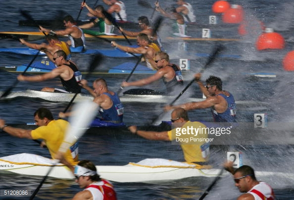 Photo of Olympics 1984 Los Angeles – Kayak – Mens 1000m Doubles Heats