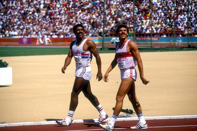 Photo of Olympics – 1984 Los Angeles – Men's Decathlon – Pole Vault & Hurdles & Discus
