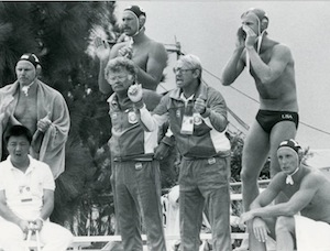 Photo of Olympics – 1984 Los Angeles – Water Polo – USA VS Holland – 4th Period