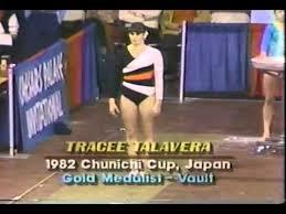Photo of Olympics – 1984 Los Angeles – Gymnastics – Womens Vault – USA Tracee Talavera