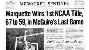 Photo of NCAAM – Special – Al McGuire Presents His All Time NCAA Tournament Teams
