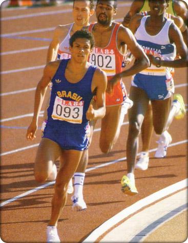 Photo of Olympics – 1984 Los Angeles – ABC Profile – Track 800m – BRA Joaquim Cruz
