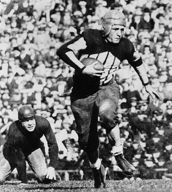 Photo of NFL – Special – Big Game America – Jim Thorpe & Johnny Blood & George Halas & Red Grange
