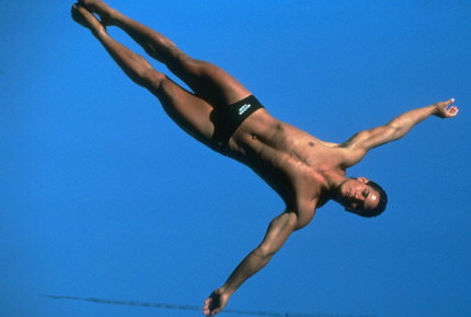 Photo of Olympics – 1984 Los Angeles – Diving – Mens Springboard Finals – Dive 1 Round