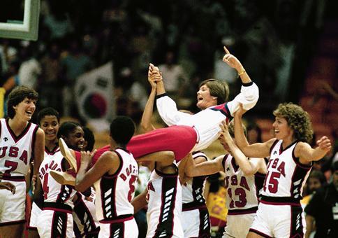 Photo of Olympics – 1984 Los Angeles – Basketball – Womens Finals – USA VS Korea – End 1st Half