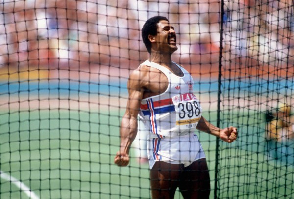 Photo of Olympics – 1984 Los Angeles – Track – Decathlon – Discus Throw