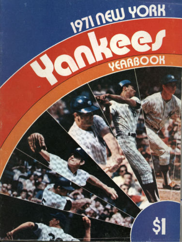 Photo of Bonne Daddy's 1971 New York Yankees Baseball Card Collection Pieces