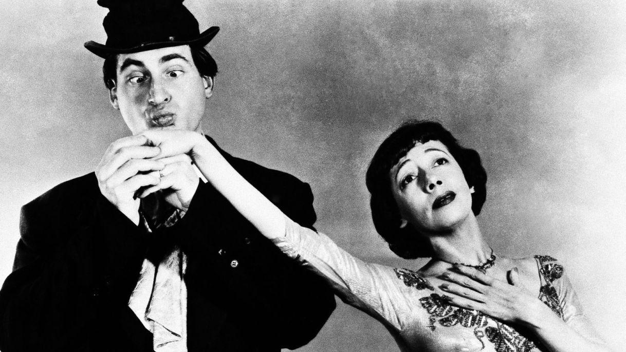 Photo of Olympics – 1984 Los Angeles – ABC Profile – Actor Sid Caesar With Kathleen Sullivan