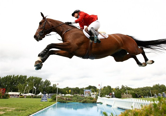 Photo of Olympics – 1984 Los Angeles – Equestrian – Team Jumping – FRA Pierre Durand & GBR John Whitaker