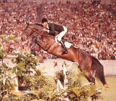 Photo of Olympics – 1984 Los Angeles – Equestrian – Team Jumping – USA Melanie Smith