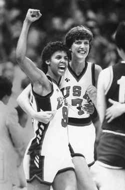 Photo of Olympics – 1984 Los Angeles – Basketball – Womens Finals – USA VS Korea – 1st Qtr