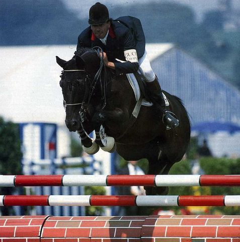 Photo of Olympics – 1984 Los Angeles – Equestrian – Show Jumping Individual – MEX Tazzer & CAN Millar & FRA Durand
