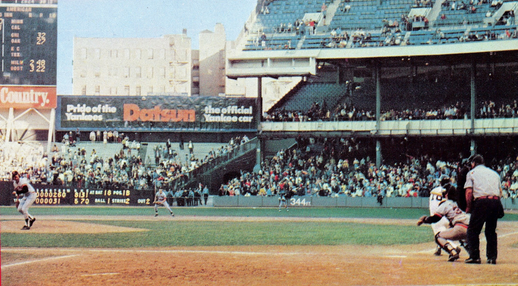 Photo of Bonne Daddy´s 1973 New York Yankees Baseball Card Collection Pieces