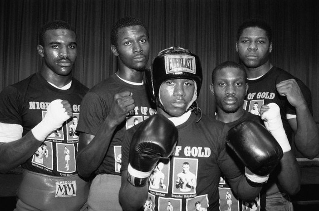 Photo of Olympics – 1984 Los Angeles – Boxing- Heavywt Gold Fight – USA Tyrell Biggs VS ITA Francesco Damiani