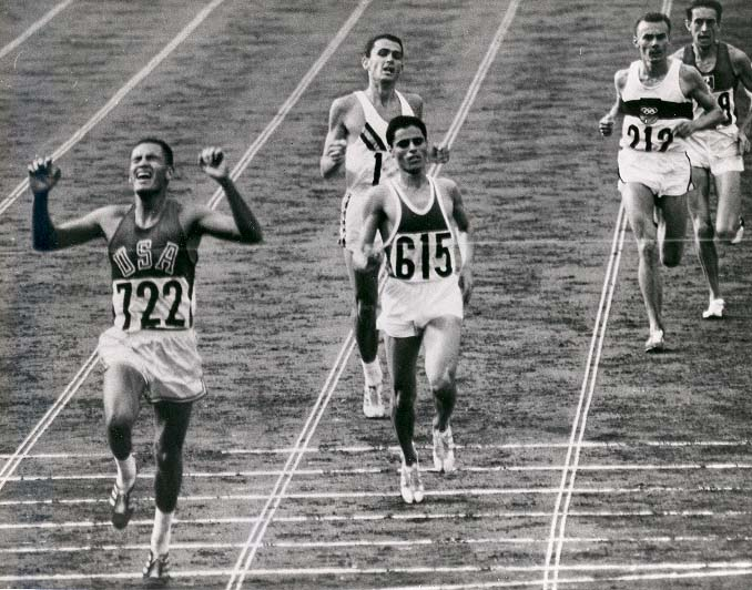 Photo of Olympics 1984 Los Angeles – ABC Profile – Billy Mills – 1968 Mens 10K Gold Medalist