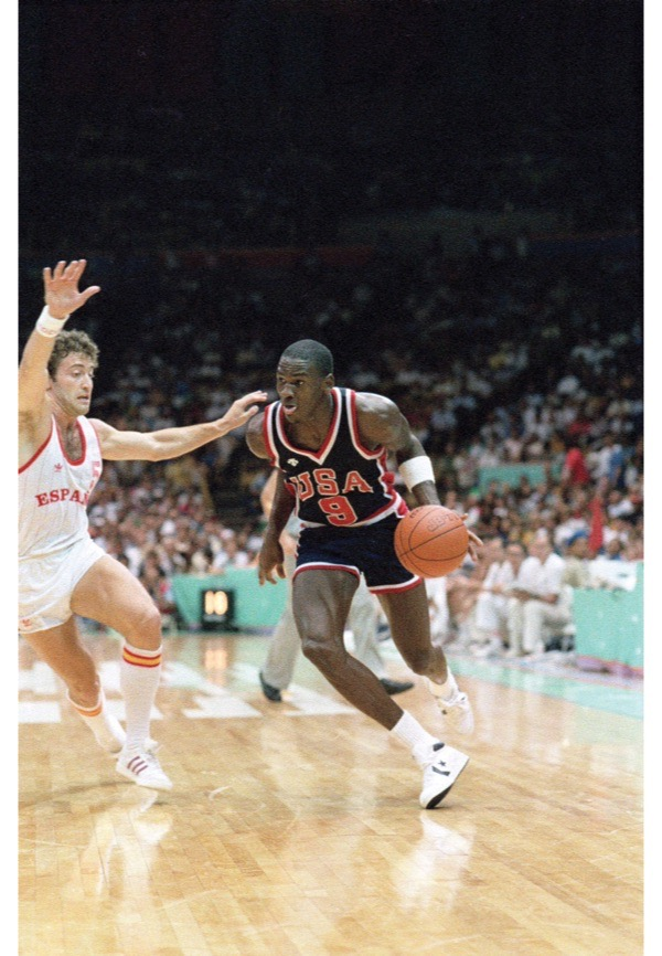 Photo of Olympics – 1984 Los Angeles – Basketball – Mens Qualifying – USA VS Spain – Part 1