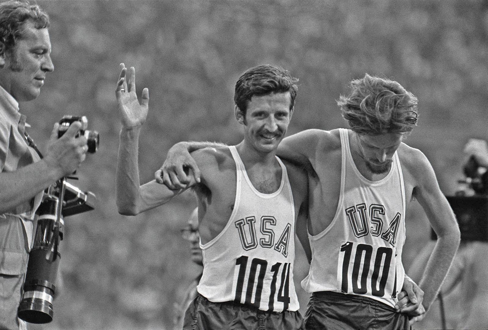 Photo of Olympics – 1984 Los Angeles – ABC Profile – 1972 Munich Marathon Gold Medalist Frank Shorter