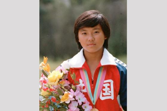 Photo of Olympics – 1984 Los Angeles – ABC Profile – CHN Woman Diver Zhou Jihong