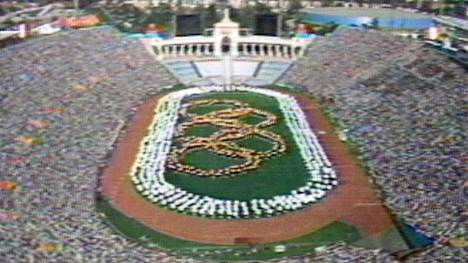 Photo of Olympics – 1984 Los Angeles – ABC Introduction To Day 13 With Jim McKay