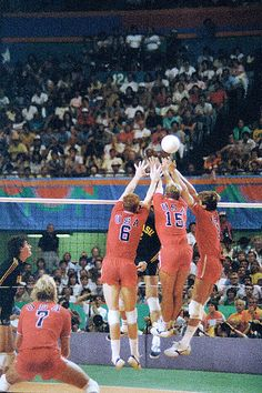 Photo of Olympics – 1984 Los Angeles – Volleyball – Mens Finals – USA VS Brazil & In Studio Player Interview