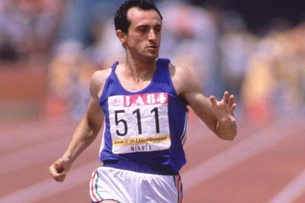 Photo of Olympics – 1984 Los Angeles – Track – Mens 200 m Heats – ITA Pietro Mennea & CAN Desai Williams