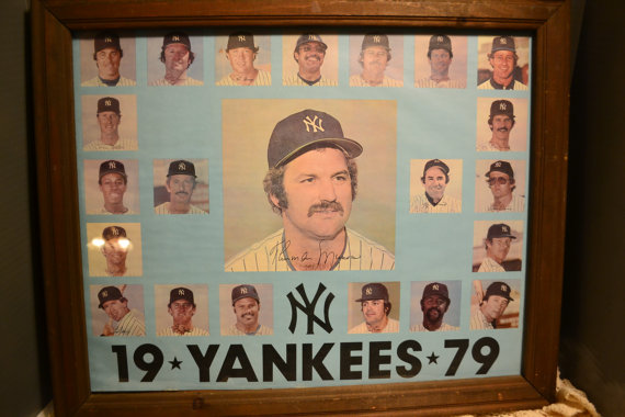 Photo of Bonne Daddy´s 1979 New York Yankees Baseball Card Collection Pieces