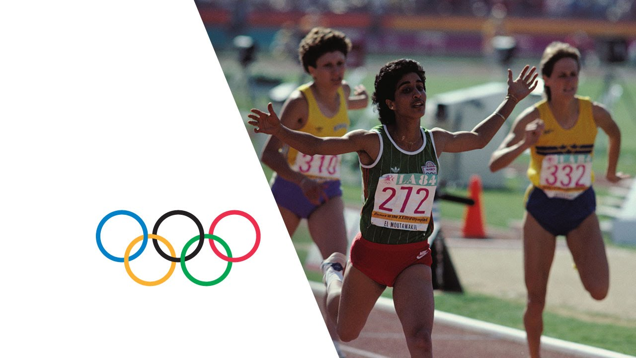 Photo of Olympics – 1984 Los Angeles – ABC Profile – Winning 1st Medal In Olympic History