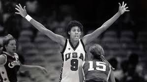 Photo of Olympics – 1984 Los Angeles – Basketball – Womens Finals – USA VS Korea – 2nd Qtr