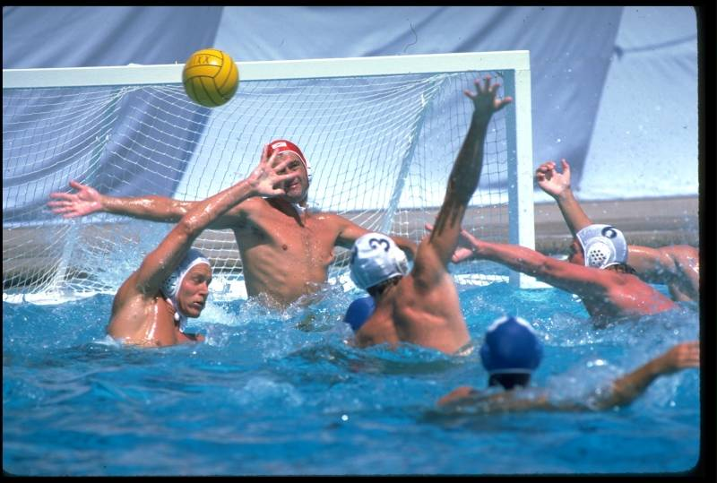 Photo of Olympics – 1984 Los Angeles – Water Polo – Mens Finals – USA VS YUG – 3rd & 4th Period