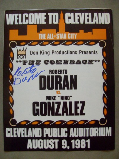Photo of Boxing – Super Welterweight Bout – Roberto Duran VS Nino Gonzales