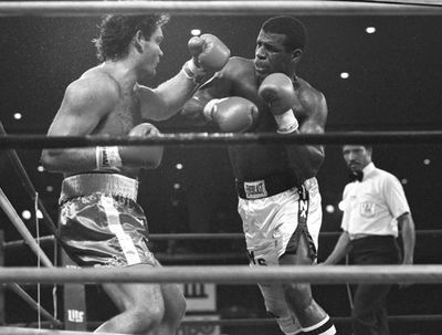 Photo of Boxing – IBF Heavyweight Title – Champ Michael Spinks VS Steffen Tangstad