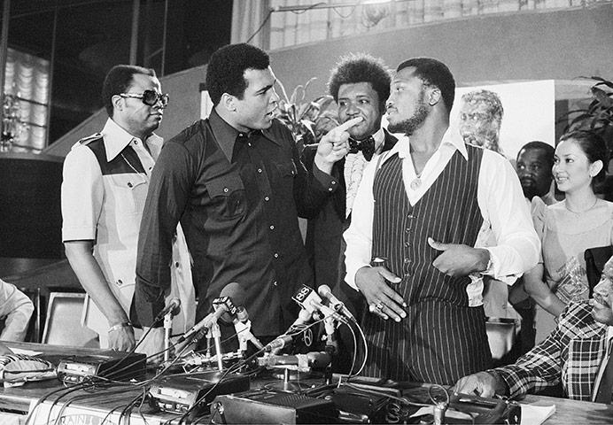 Photo of Boxing – Heavyweight Title – The Thrila in Manila – Muhammad Ali vs Joe Frazier