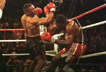 Photo of Boxing – WBC Heavyweight Title – Mike Tyson VS Frank Bruno