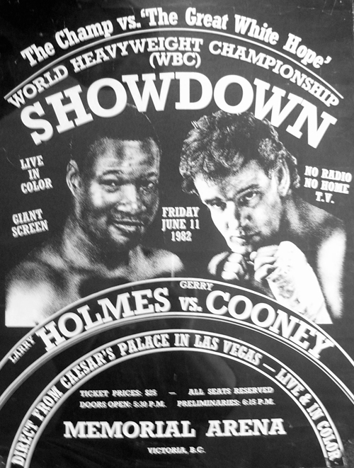 Photo of Boxing – Heavyweight Title – HBO Studio Review – Larry Holmes VS Gerry Cooney