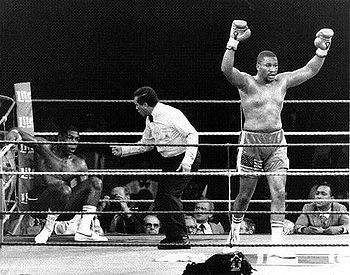 Photo of Boxing – NABF Heavyweight Title – Tim Witherspoon VS James Broad