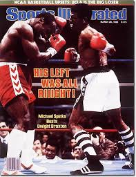 Photo of Boxing – Light Heavyweight Title – Dwight Braxton Muhammad Qawi VS Michael Spinks