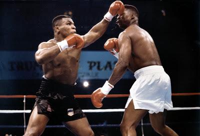 Photo of Boxing – Heavyweight Title – WBC Champ Mike Tyson VS IBF Champ Tyrell Biggs