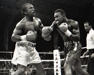 Photo of Boxing – Continental Americas Heavyweight Title – Evander Holyfield VS Michael Dokes