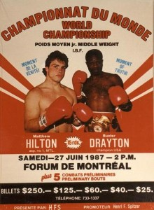 Photo of Boxing – IBF Junior Middleweight Title – Champ Buster Drayton VS Matthew Hilton